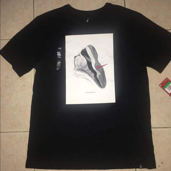 d3ac6d57494 Jordan Shirts | Air Retro 11 Concord T Shirt Mens Xl | Poshmark